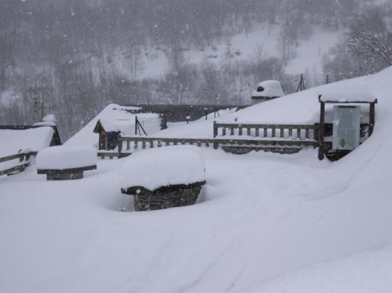 le Belvédère sous la neige